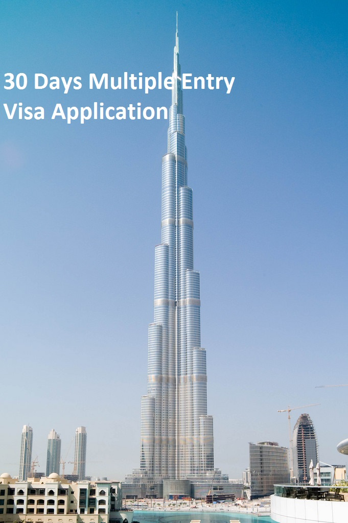 30 Days Multiple Entry Visa Application