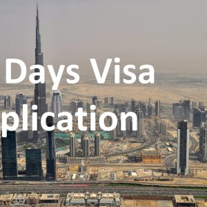 30 Days Visa Application