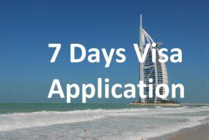 7 Days Visa Application