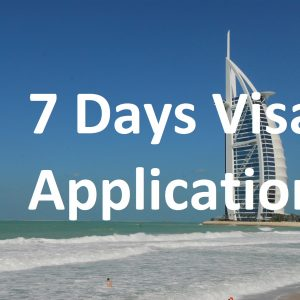 7 Days Visa Application