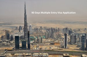 90 Days Multiple Entry Visa Application