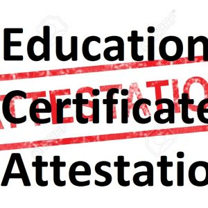 Education Certificates Attestation