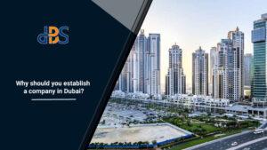 Why should you establish a company in Dubai 1